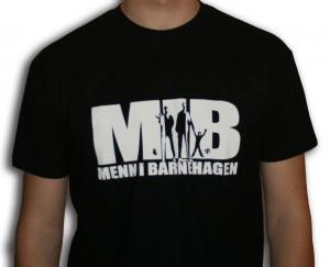 MIB t-skjorte